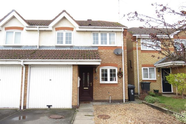Thumbnail Semi-detached house for sale in Cunningham Close, Higham Ferrers, Rushden