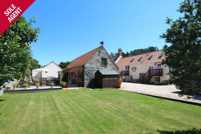 Thumbnail Detached house for sale in Farmhouse And Self Catering Cottages, St Pierre Du Bois