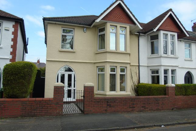 Thumbnail End terrace house for sale in Thompson Avenue, Cardiff