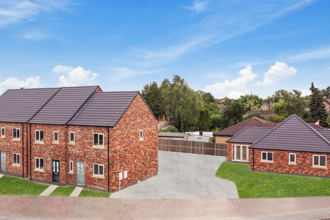 Thumbnail Detached bungalow for sale in Picknett Way, Dunholme, Lincoln