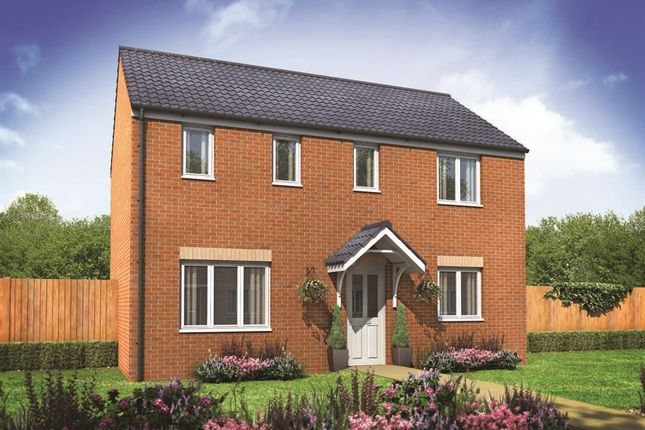 "Thumbnail Detached house for sale in ""The Clayton"" at City Fields Way, Tangmere, Chichester"