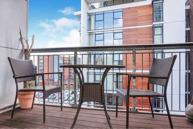 Balcony of 33 Little Peter Street, Manchester M15