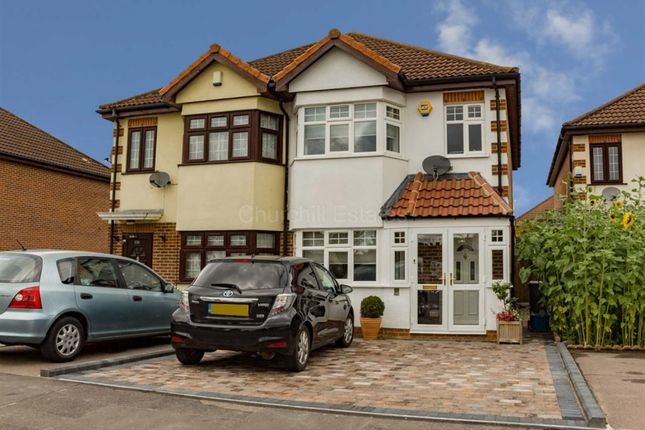 Thumbnail Semi-detached house for sale in Elmcroft Avenue, Wanstead, London