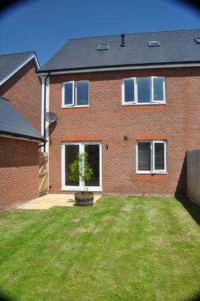 Thumbnail Semi-detached house to rent in Hardys Road, Bathpool, Taunton