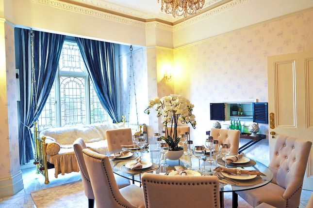 Thumbnail End terrace house to rent in Philbeach Gardens, Earls Court, London
