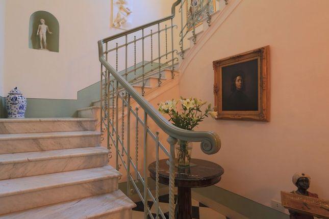 Staircase of Villa Prosperini, Calzolaro, Citta di Castello, Umbria