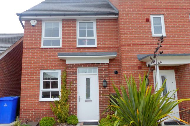 Thumbnail Semi-detached house to rent in Aylesbury Way, Forest Town, Mansfield