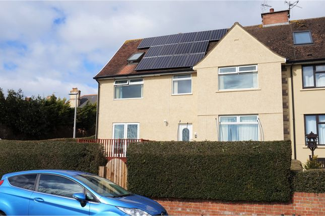 Thumbnail End terrace house for sale in Dock View Road, Barry