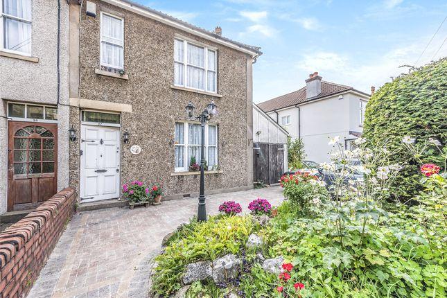 Thumbnail Semi-detached house for sale in Weston Road, Long Ashton, Bristol