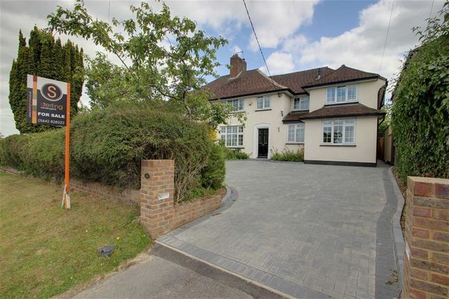 Thumbnail Semi-detached house for sale in Icknield Way, Tring
