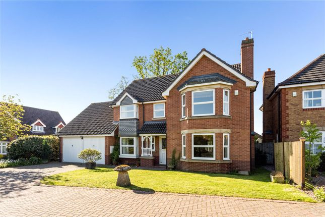 Thumbnail Detached house for sale in Prince Edwards Close, Evesham, Worcestershire