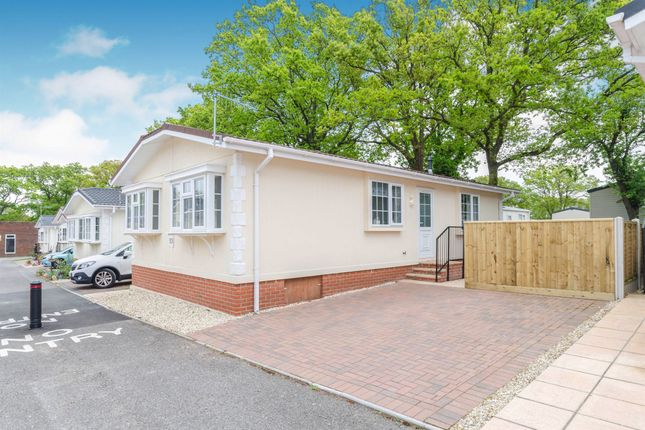 Thumbnail Mobile/park home for sale in Corfe Road, Stoborough, Wareham