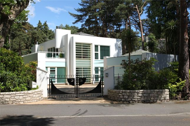 Thumbnail Detached house for sale in Western Avenue, Branksome Park, Poole