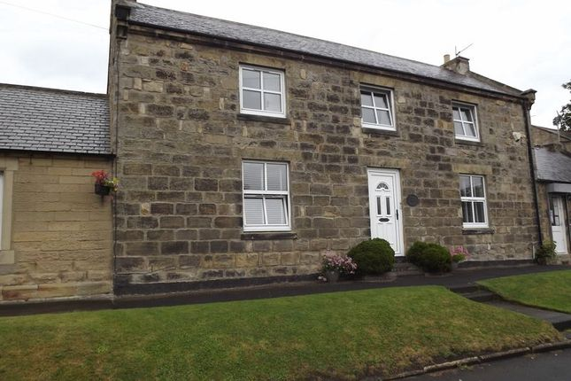 Thumbnail Terraced house for sale in Ellington, Morpeth