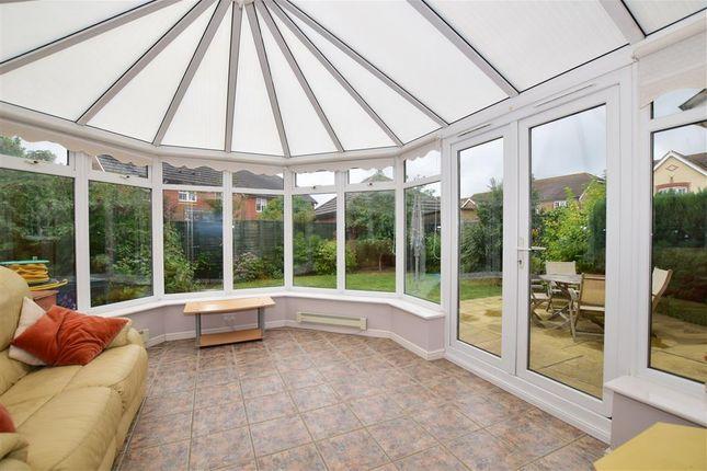 Thumbnail Detached house for sale in Alec Pemble Close, Kennington, Ashford, Kent