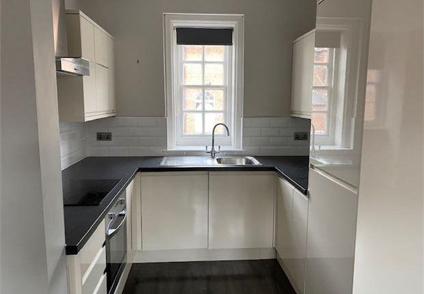 Kitchen of 1 Market Place Apartments, Newark, Nottinghamshire. NG24