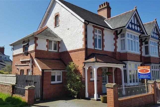 Thumbnail Semi-detached house for sale in Iorwerth Avenue, Aberystwyth, Ceredigion