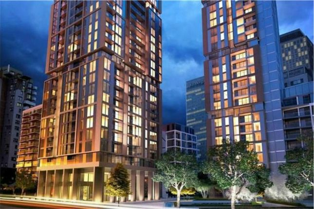 1 bed flat for sale in Maine Tower, Harbour Central, London