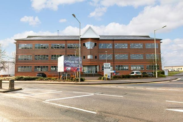 Office to let in Ground Floor Unit 2 Percival House, Prospect Way, London Luton Airport, Luton, Bedfordshire