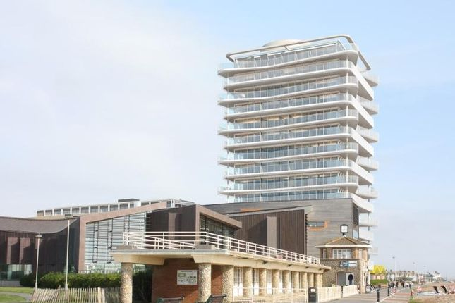 Thumbnail Flat for sale in Bayside Apartments, 62 Brighton Road, Worthing