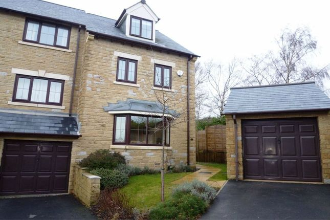 Thumbnail End terrace house to rent in Manor House, Flockton, Wakefield, West Yorkshire