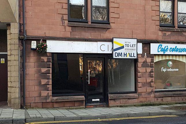 Thumbnail Retail premises to let in Newmarket Street, Falkirk