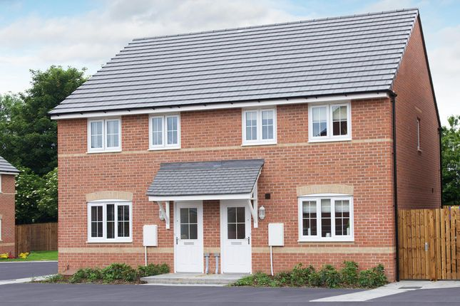 """Thumbnail Terraced house for sale in """"Finchley"""" at Bruntcliffe Road, Morley, Leeds"""