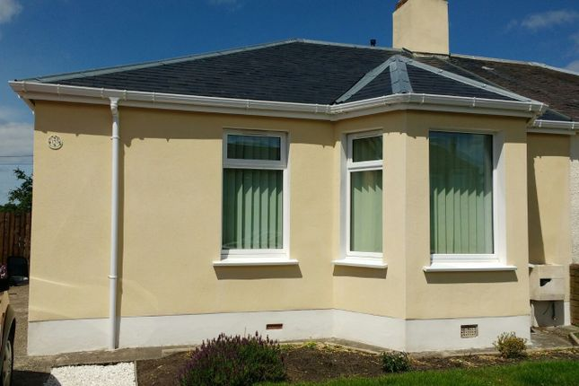 Thumbnail Semi-detached bungalow to rent in Lochside Road, Ayr