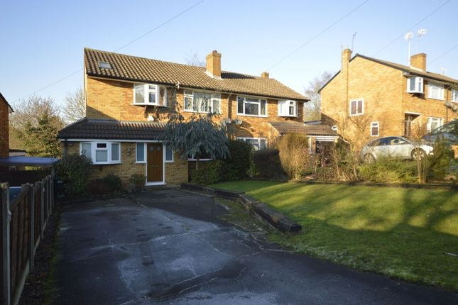 Thumbnail Semi-detached house to rent in Manor House Gardens, Abbots Langley