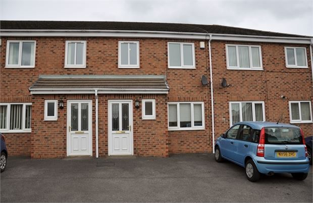 Thumbnail Terraced house to rent in Barr House Court, Consett, County Durham.