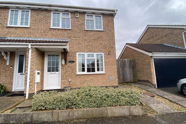 3 bed semi-detached house to rent in East Rising, Wootton, Northampton NN4