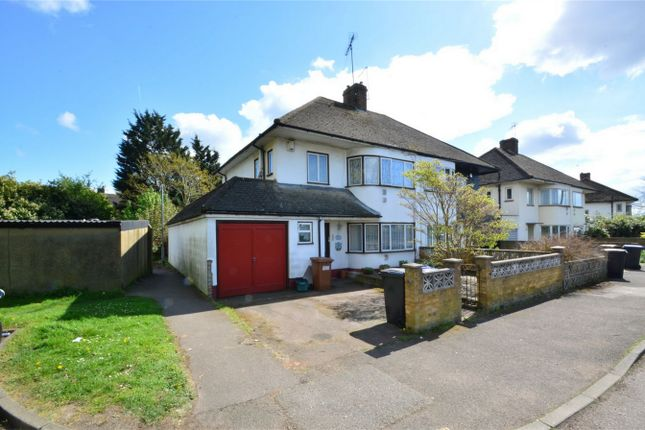 Thumbnail Semi-detached house for sale in West View, Hatfield, Hertfordshire