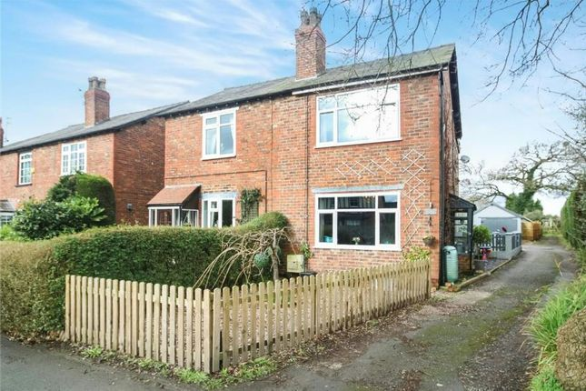 Thumbnail Semi-detached house for sale in Town Lane, Mobberley, Knutsford