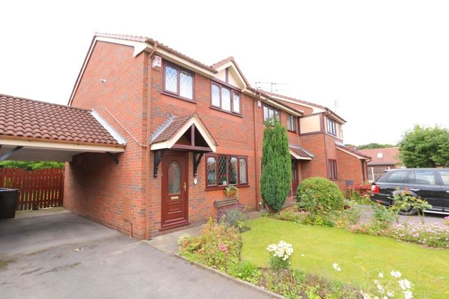 Thumbnail Semi-detached house for sale in Towncroft, Denton, Manchester