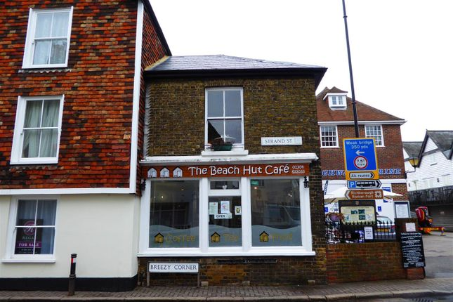 Thumbnail Commercial property for sale in Strand Street, Sandwich