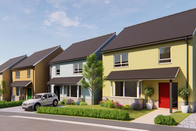 Thumbnail Detached house for sale in Plot 14, Coed Y Neuadd, Bronwydd Road