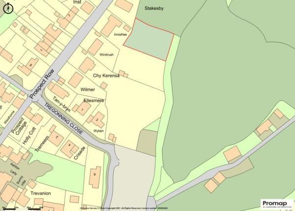 Thumbnail Land for sale in Ashton, Helston, Cornwall