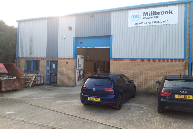Thumbnail Light industrial to let in Unit 21 Uplands Way, Blandford Heights, Blandford, Dorset