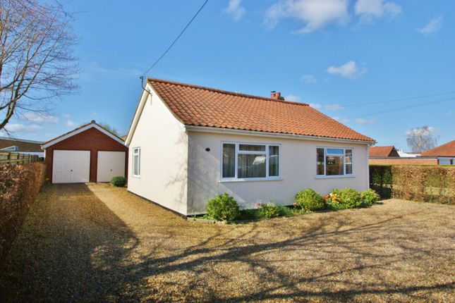 Thumbnail Detached bungalow for sale in Ivy Road, Spixworth, Norwich