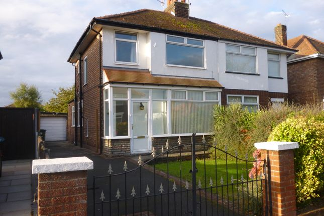 Thumbnail Semi-detached house to rent in Asland Gardens, Southport