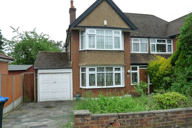 Thumbnail Semi-detached house for sale in Aston Avenue, Kenton