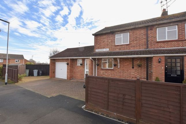 Thumbnail Semi-detached house for sale in Willoughby Road, Stamford