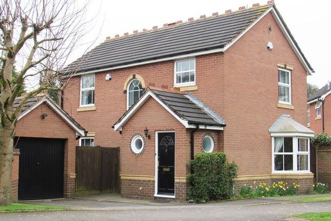 Thumbnail Detached house for sale in Shelly Crescent, Monkspath, Solihull