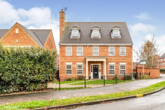 Thumbnail Detached house for sale in Lynnon Field, Warwick, Warwickshire