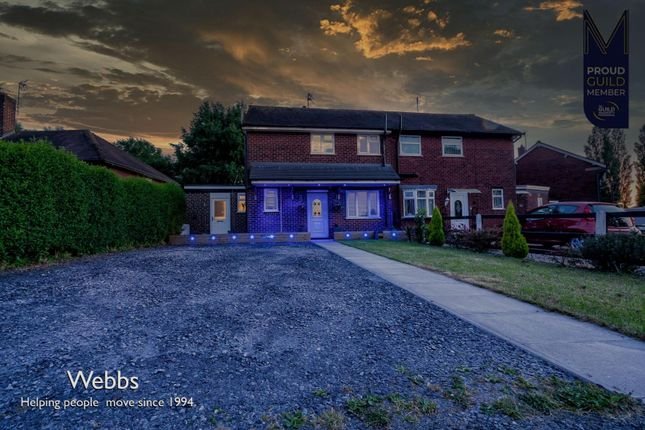 2 bed semi-detached house for sale in Hawthorne Road, Wimblebury, Cannock WS12