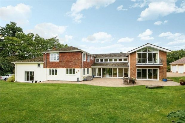 Thumbnail Detached house for sale in Forest Lane, Hightown Hill, Ringwood, Hampshire