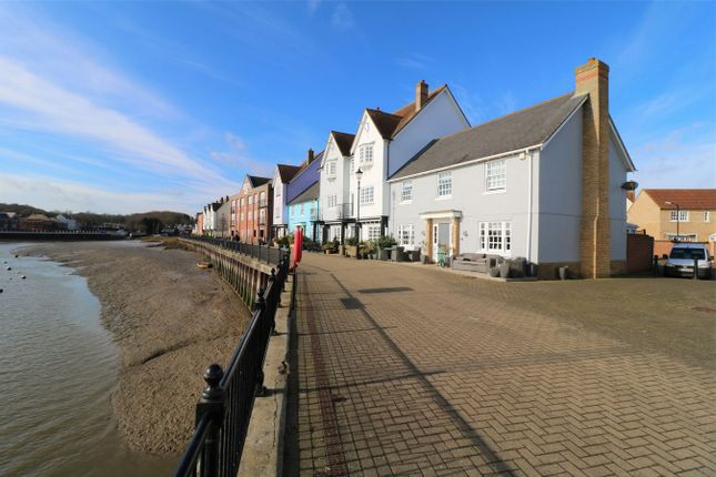 Thumbnail Link-detached house for sale in West Quay, Wivenhoe, Essex
