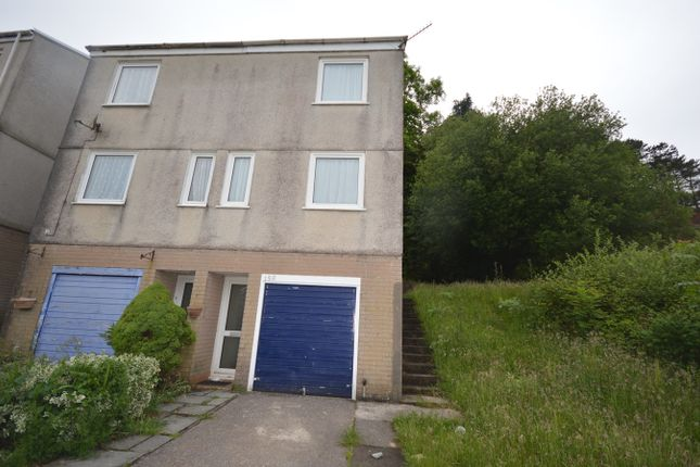 Thumbnail End terrace house to rent in Hillrise Park, Clydach, Swansea