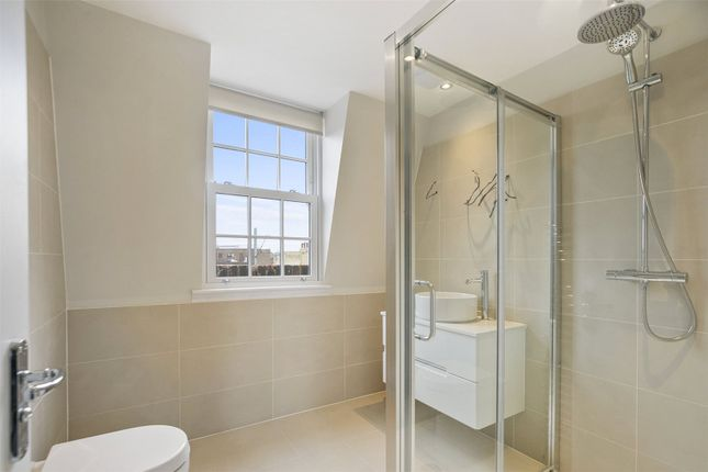 Shower Room of Rousden Street, London NW1