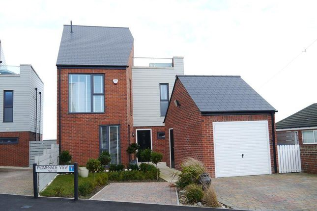 Thumbnail Detached house for sale in Promenade View, Newbiggin-By-The-Sea, Northumberland